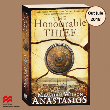 The Honourable Thief cover reveal